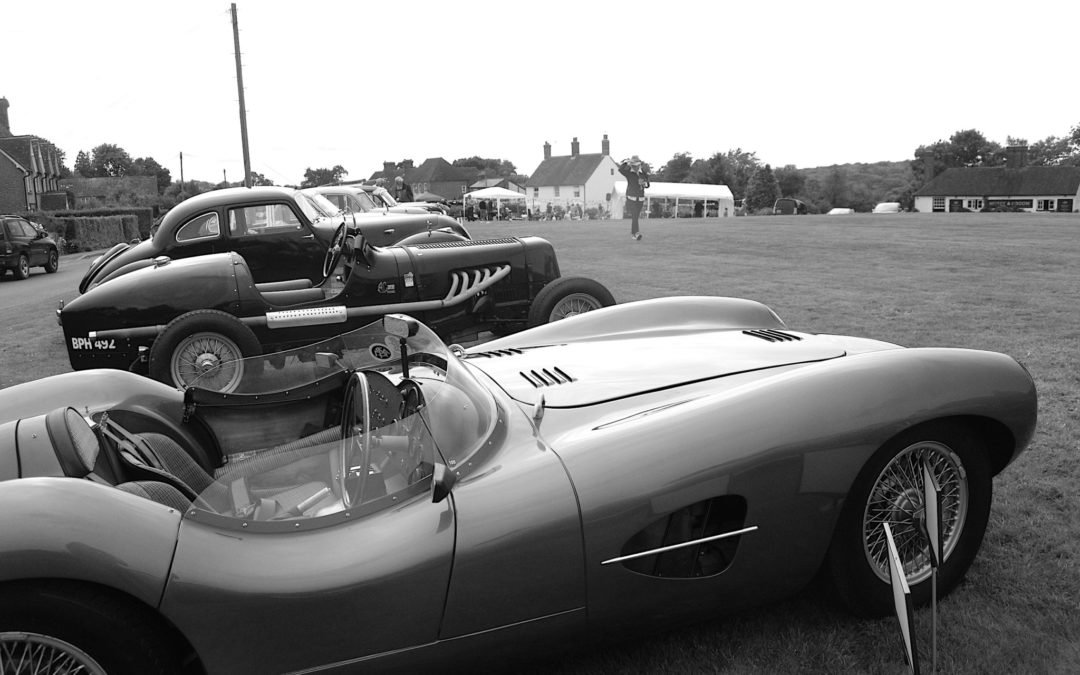 BIG (lunch) AUTOMOBILE SHOW on Rushlake Green