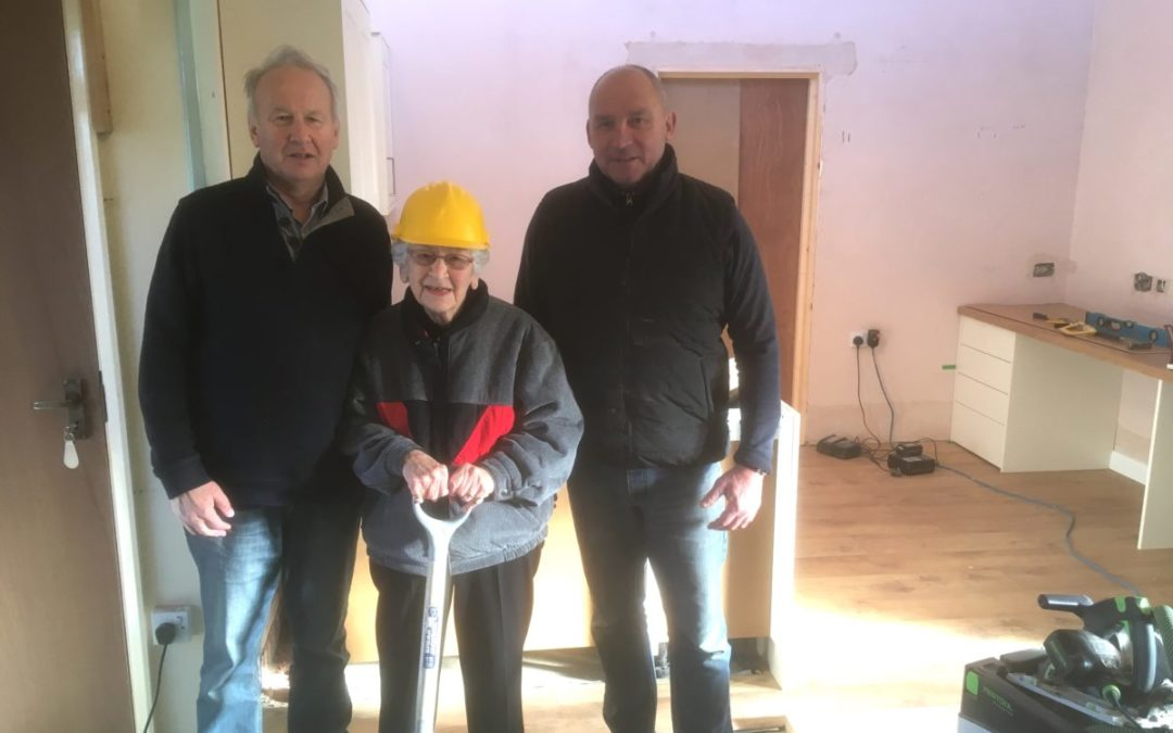 YES THEY CAN – work in progress at Osborne House