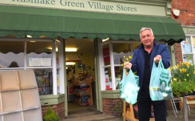 Rushlake Green Village Stores – even BIGGER on the OUTSIDE