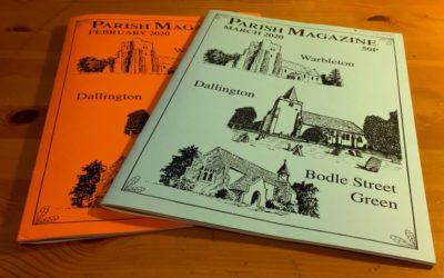 Parish Mag Continues Online