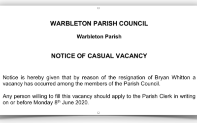 CASUAL VACANCY at PARISH COUNCIL