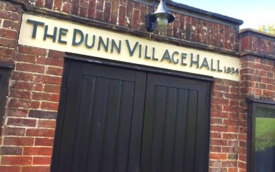 DUNN VILLAGE HALL – Open, ready and available