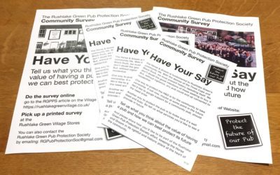 HAVE YOUR SAY about how to protect the pub's future
